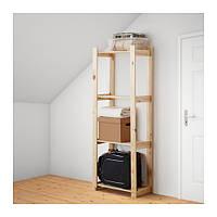 Стеллаж икеа ALBERT, хвойное дерево сосна, IKEA, 001.119.94