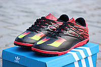 Мужские кроссовки Adidas черно красный/ кроссовки мужские Адидас, весна-осень, очень удобные