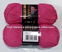 Пряжа Home cotton Himalaya, № 122-09, малиновый
