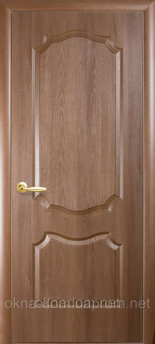 Двери межкомнатные Новый Стиль Фортис deluxe Вензель глухие