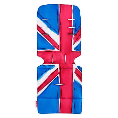 "Аксессуар к коляске «Maclaren» (AM1Y031872) вкладыш, цвет ""Union Jack"", фото 2"