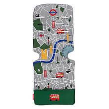 """Аксессуар к коляске «Maclaren» (AM1Y031882) вкладыш, цвет """"London City Map"""""""