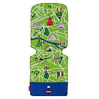 """Аксессуар к коляске «Maclaren» (AM1Y031922) вкладыш, цвет """"Paris City Map"""""""
