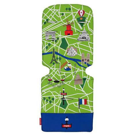 """Аксессуар к коляске «Maclaren» (AM1Y031922) вкладыш, цвет """"Paris City Map"""", фото 2"""