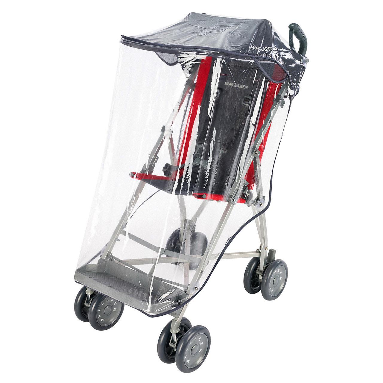 """Аксессуар к коляске «Maclaren» (NHE07011) дождевик для коляски """"Major Elite"""", цвет """"Black"""" (чёрный)"""
