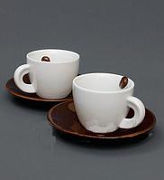 Подарок любимому человеку на 14 февраля кофейный набор купить недорого Харьков