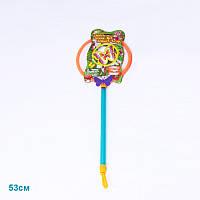 Сачок детский 21130/2 2 цвета лист 53см, игрушка сачок, детский сачок для ловли бабочек