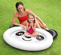 """Надувной детский бассейн """"Панда"""" Intex 59407, бассейн для детей 1-3лет 117*89*14см, бассейн для малышей"""