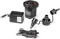 Электрический насос Intex 66632, насос электрический/от прикуривателя 220-240/12 вольт Интекс