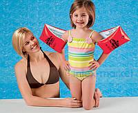 Детские надувные нарукавники для плавания Intex 58641 30*15см, нарукавники для ребенка, детские нарукавники