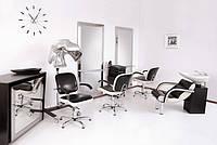 Парикмахерское оборудование: кресла, мойки, тележки