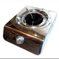 Газовая плита настольная Gaes 16410/1, газовый таганок переносной, портативная плита газовая на 1 комфорку