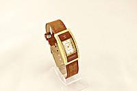 Женские часы CHANEL коричневые классические украшены камнями (копия)