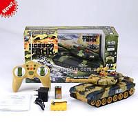 Детский боевой танк 9993 на радиоуправлении Можно собрать танковый бой!