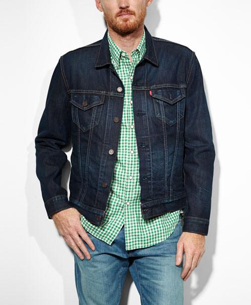 Джинсовая куртка Levis Slim Fit Trucker Jacket new