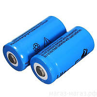 Аккумуляторная батарейка Li-Ion Bailong 3.7V 16340 (Blue)
