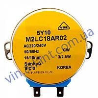 Двигатель DA31-10107D заслонки M2LC18AR02 для холодильников Samsung