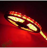 Лента светодиодная LED 5630 R красный цвет, гибкая светодиодная лента, лента smd 5630 led