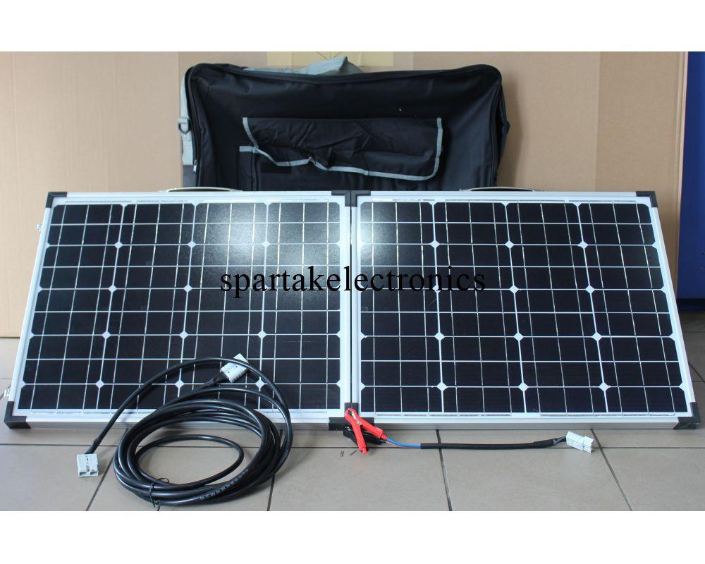 """Панель солнечная Solar board 2F 80W 18V 670*450*35*35 FOLD, солнечная энергия, солнечная батарея для дома - Интернет магазин """"24Argo"""" в Днепре"""