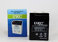Аккумулятор BATTERY RB 640 6V 4A UKC, аккумуляторная батарея BATTERY, гелевый аккумулятор 6v 4a