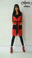 Модный женский жилет на подкладе