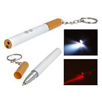 """Брелок """"сигарета"""" LASER ZK 9107 (только упаковкой 24 штук), ручка брелок шариковая, брелок пачка сигарет"""