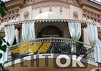 Козырек-тент для балкона Киев