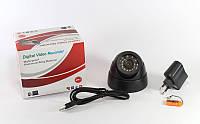 Купольная видеокамера CAMERA TF CARD + DVR USB, купольная поворотная камера видеонаблюдения
