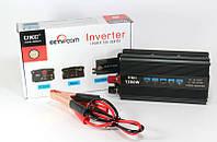 Инвертор преобразователь напряжения AC/DC 1200W SSK, автомобильный инвертор 12V 220V