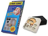 Слуховой аппарат CYBER SONIC, заушный слуховой аппарат, аппарат для слуха кибер соник