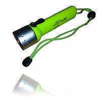 Светодиодный подводный фонарь BL PF02, водонепроницаемый ручной фонарик