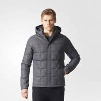 Пуховик мужской с капюшоном adidas Wool-Look AY3854