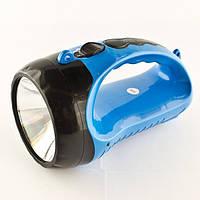 Фонарик переносной светодиодный Yajia YJ 2819A, ручной бытовой фонарь