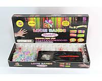 Большой набор резинок для плетения браслетов 600 шт. Loom Bands LB018, разноцветные резиночки