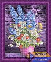 Схема для вышивки бисером - Букет полевых цветов, Арт. НБч3-103