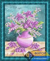 Схема для вышивки бисером - букет цветов, Арт. НБч3-105