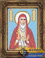 Схема иконы для вышивки бисером - Елизавета Св. Мученица, Арт. ИБ5-041-1