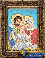 Схема иконы для вышивки бисером - Святое Семейство, Арт. ИБ5-131-1
