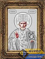 Схема иконы для вышивки бисером - Николай Чудотворец (Угодник), Арт. ИБ4-104-3