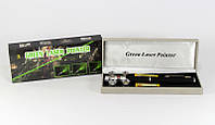Лазерный фонарик-указка LASER GREEN 5IN1, зеленая лазерная указка, мощный лазер