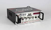 Усилитель мощности звука AMP 808, портативный усилитель звука с динамиком