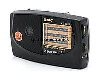 Радиоприемник переносной KIPO KB-308АC, радио AM/FM/TV/SW1-2, компактное радио для дома