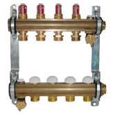 Комплект штанговых распределителей Herz для отопления полами DN 25 (1) с расходомерами
