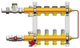 Модуль управления для систем напольного отопления Compactfloor Light (4 отвода, подключение слева)
