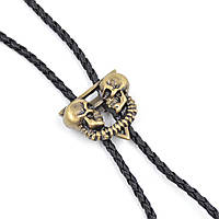 Черепки Bow Tie House - галстук боло (галстук шнурок бола) - медный цвет 08733