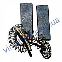 Щетки угольные для стиральной машины Siemens 5*12,5*35 клеенные, провод по центру с пружинкой 154740