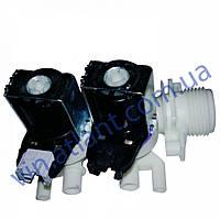 Электро-клапан впускной 2*90 двойной C00110333 под фишку для стиральных машин