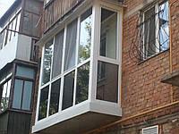 Балконы, лоджии металлопластиковые в Николаеве