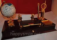 Офисный набор, деловой подарок из лакированного дерева, отличный подарок шефу