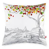 Декоративная подушка Осень